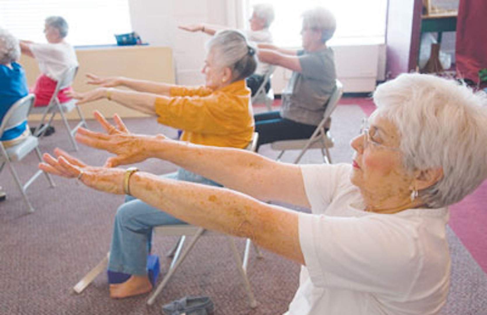 How Yoga Helps Aging